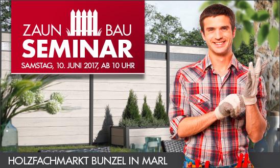 Zaunbau-Seminar bei HolzLand Bunzel in Marl