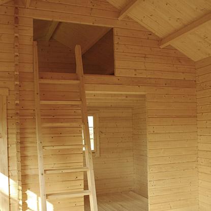 Gartenhäuser Innenausbau von HolzLand Bunzel in Marl und Hamm