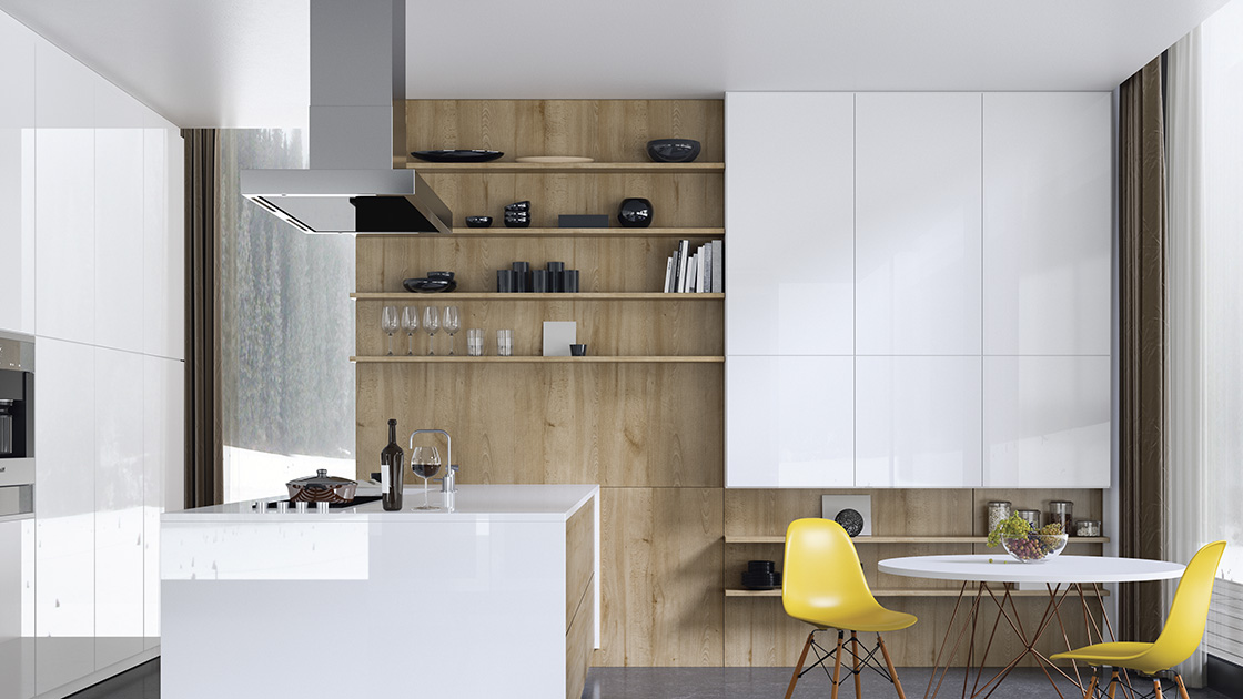 Wohnen mit Arbeitsplatten von HolzLand Bunzel in Marl und Hamm