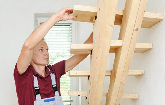 Treppen Einbau durch #dieallesschreiner von HolzLand Bunzel in Marl und Hamm