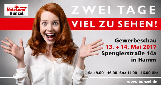 Gewerbeschau 2017 bei HolzLand Bunzel in Hamm