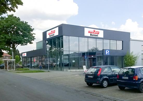 Standort HolzLand Bunzel in Hamm
