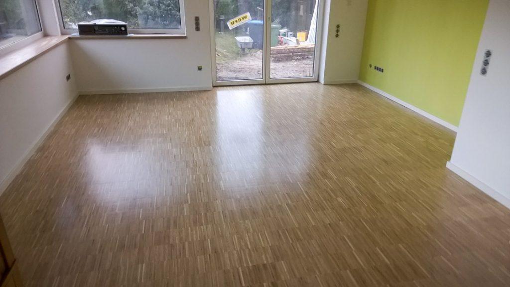 Referenzen Stäbchenparkett von HolzLand Bunzel in Marl und Hamm