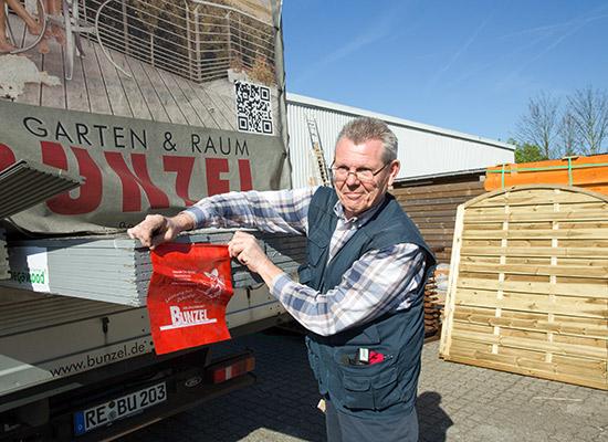 Service für Profikunden bei HolzLand Bunzel in Marl und Hamm