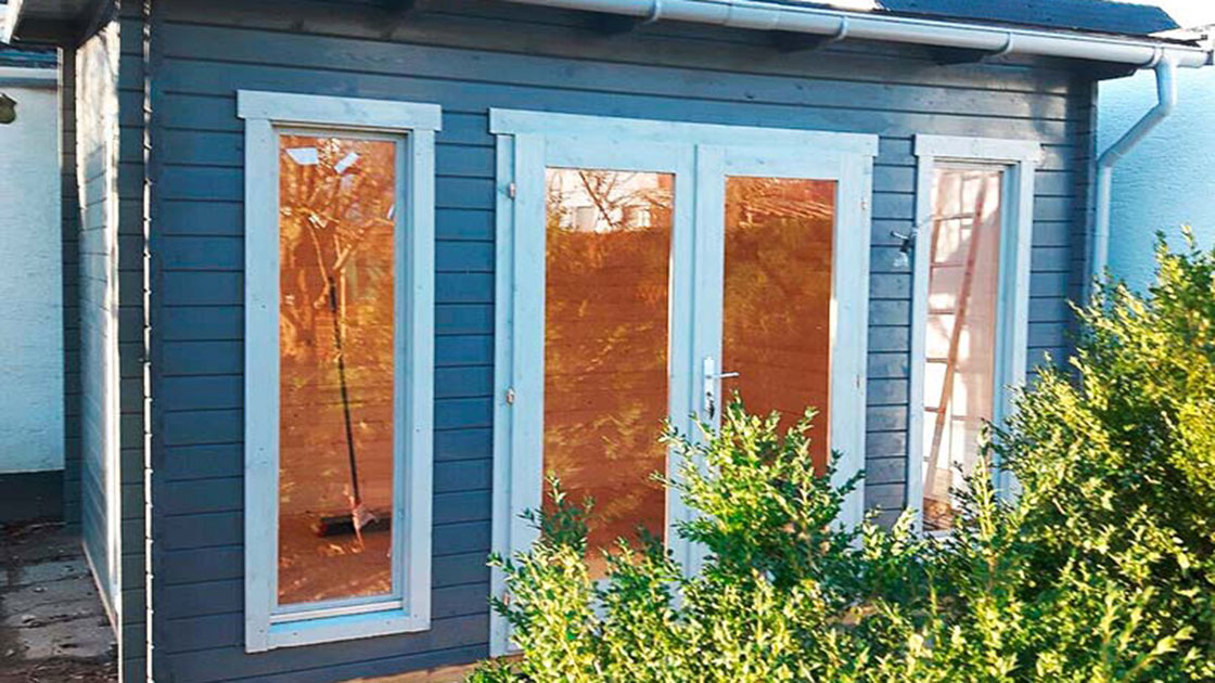 Referenzen Außen Gartenhäuser aus Holz von HolzLand Bunzel in Marl und Hamm