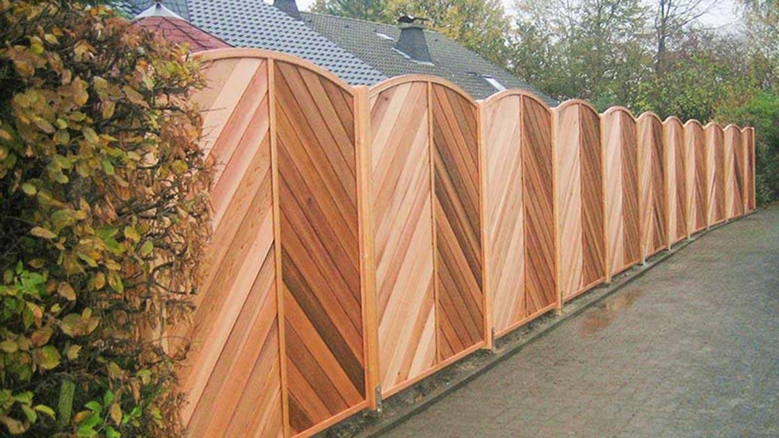 Referenzen Außen Sichtschutz von HolzLand Bunzel in Marl und Hamm