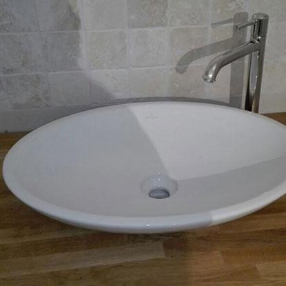 Referenzen Innen Möbel nach Maß Waschtisch von HolzLand Bunzel in Marl und Hamm