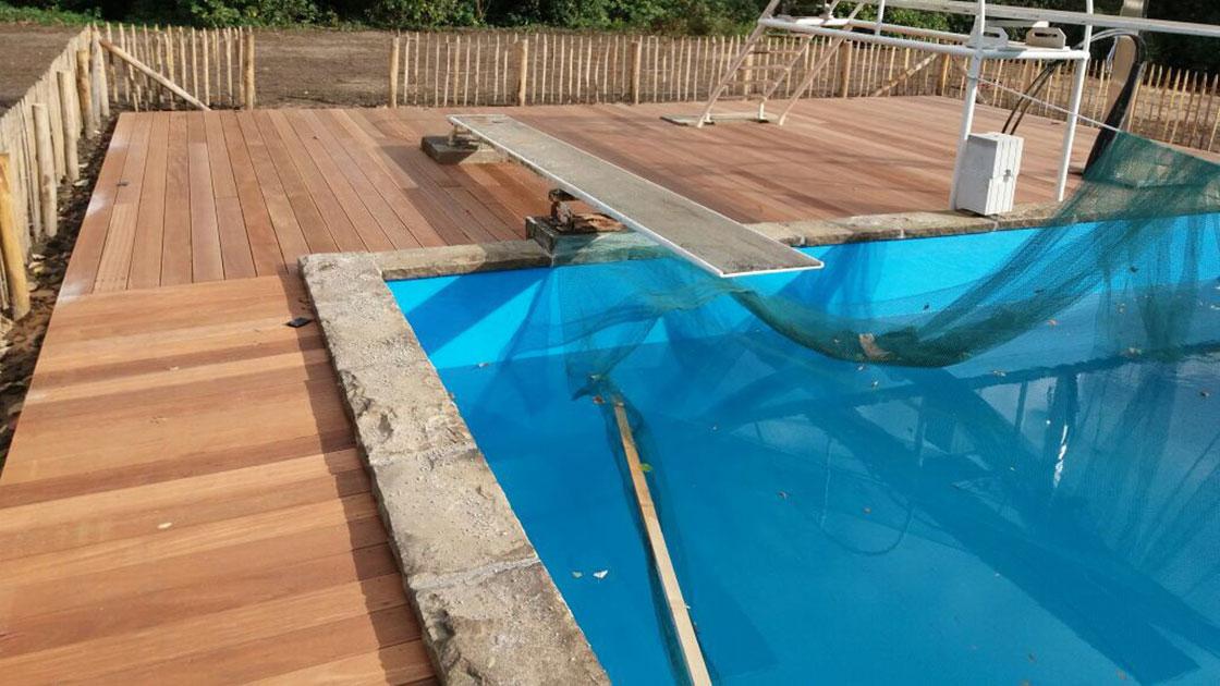 Referenzen Außenpoolanlage von HolzLand Bunzel in Marl und Hamm