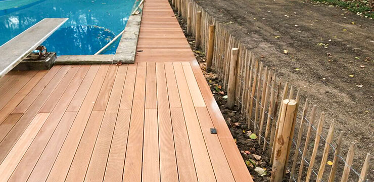 Referenzen Außenpoolanlage Boden von HolzLand Bunzel in Marl und Hamm
