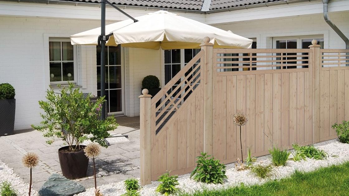 Garten Sichtschutz mit HolzLand Bunzel in Marl und Hamm