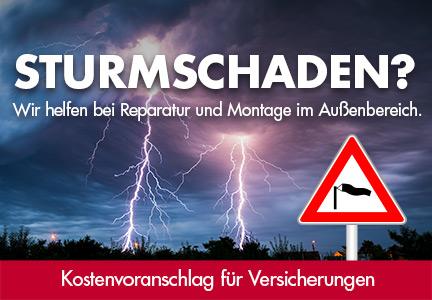 Reparaturen bei Sturmschaden | HolzLand Bunzel in Marl und Hamm | Menü