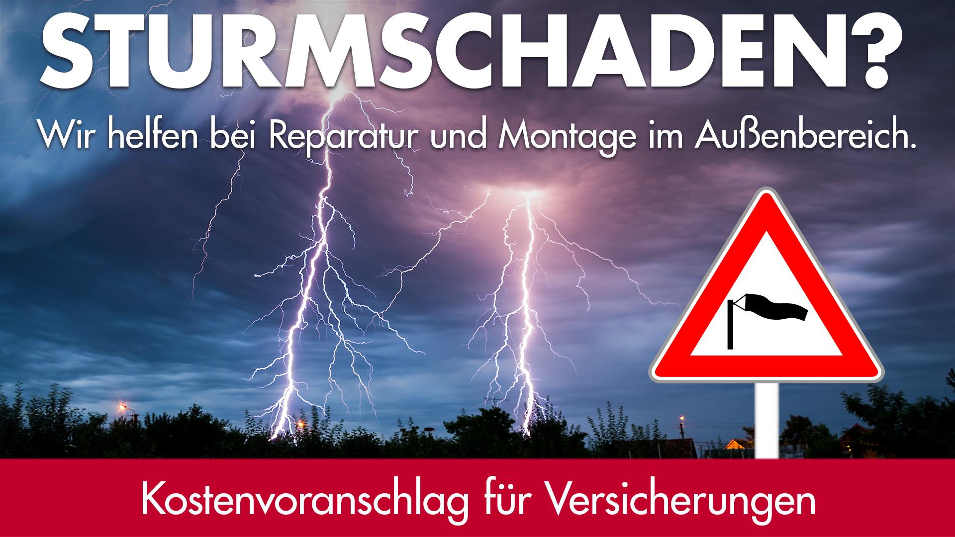 Reparaturen bei Sturmschaden | HolzLand Bunzel in Marl und Hamm