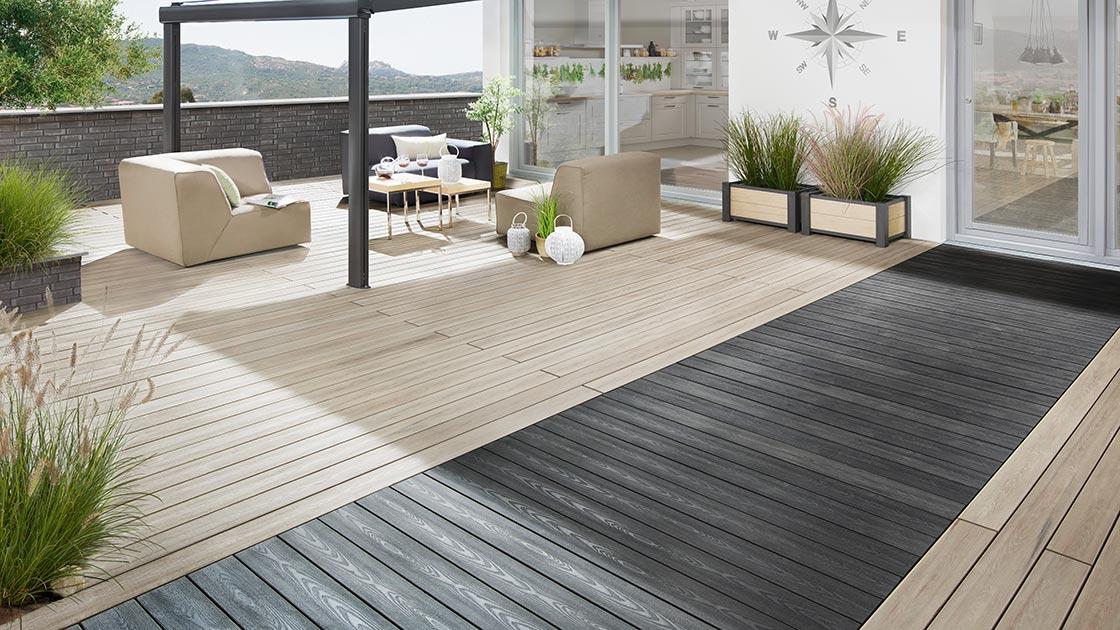 Garten Terrasse mit HolzLand Bunzel in Marl und Hamm