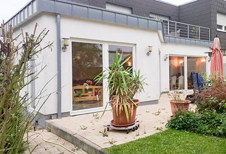 Terrasse mit Überdachung von HolzLand Bunzel in Marl und Hamm