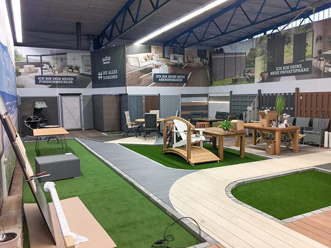 Neue Ausstellung Neueröffnung HolzLand Bunzel in Hamm