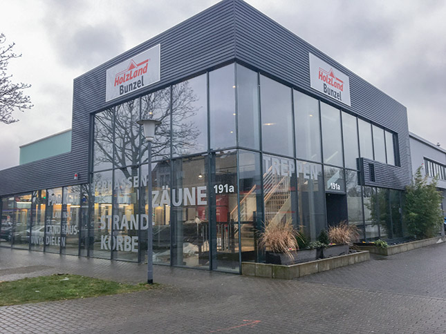 Neuer Standort HolzLand Bunzel Hamm