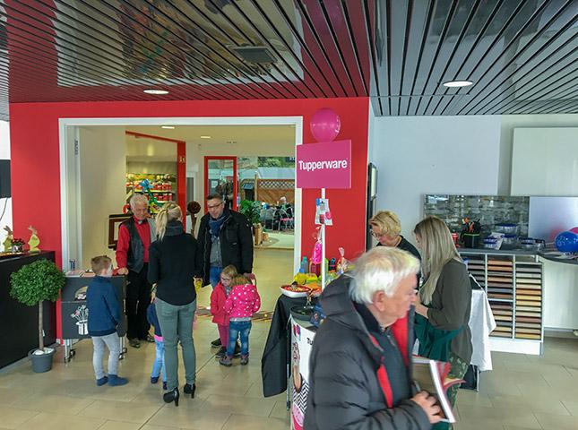 Neueröffnung Tupperware HolzLand Bunzel Hamm