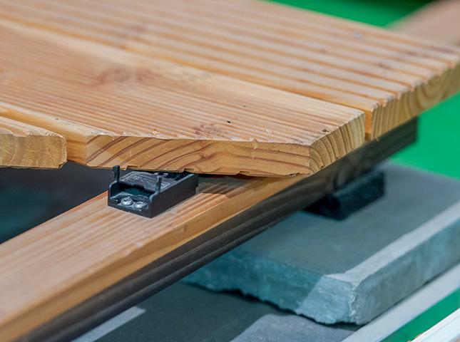 Unterkonstruktion einer Terrasse bei HolzLand Bunzel