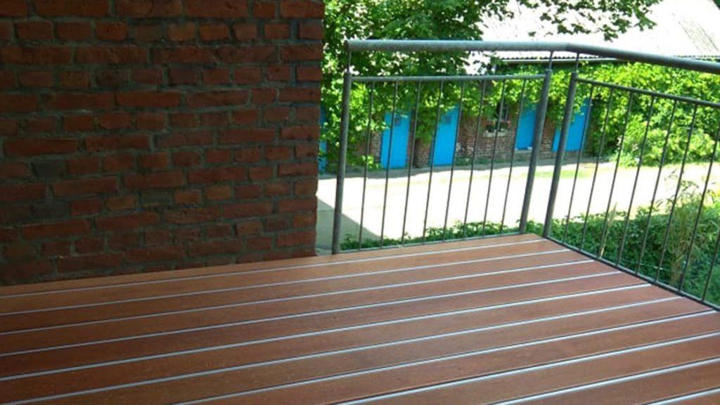 Außen Referenzen | Balkonrenovierung per Alpha-Wing-System | Holzland Bunzel in Marl und Hamm