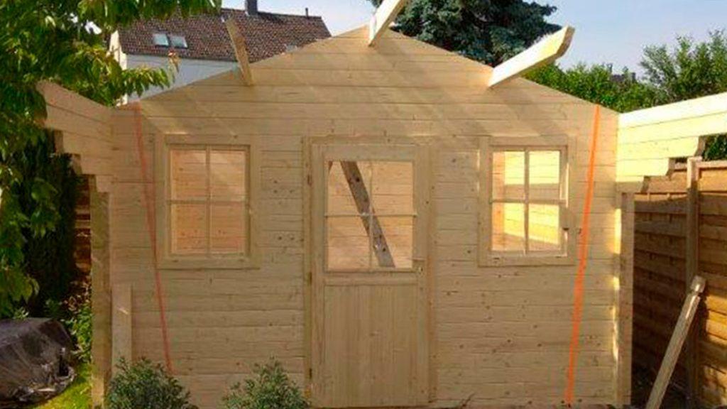 Außen Referenzen | Imprägniertes Gartenhaus | Holzland Bunzel in Marl und Hamm