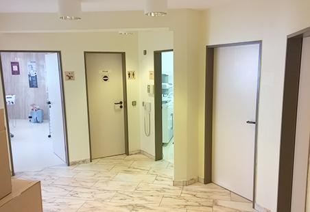 Innen Referenzen Vorher | Blickdichte Glastüren | Holzland Bunzel in Marl und Hamm