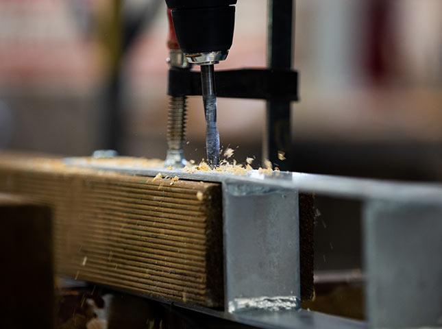 Zaun setzen | DIY-Zaunseminar bei HolzLand Bunzel in Marl
