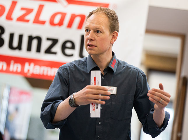 Peter Hönighaus | DIY-Zaunseminar bei HolzLand Bunzel in Marl