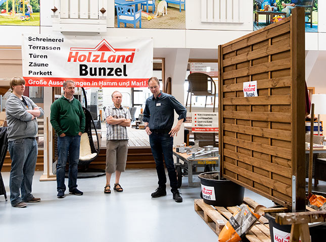 Holzzaun | DIY-Zaunseminar bei HolzLand Bunzel in Marl