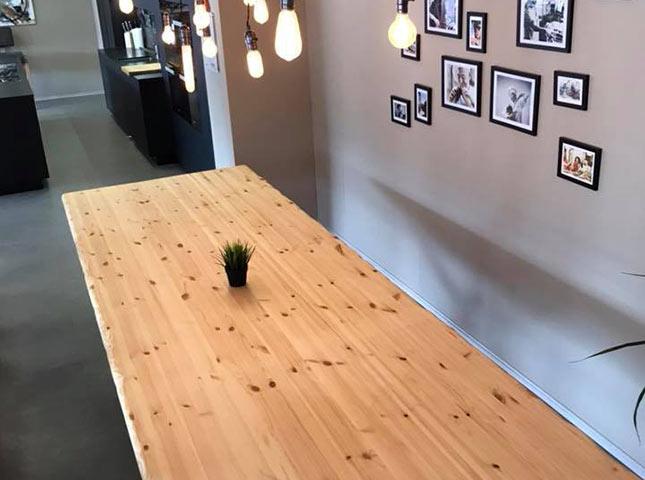 Baumkantentisch Musterung | Referenzen | HolzLand Bunzel in Marl und Hamm