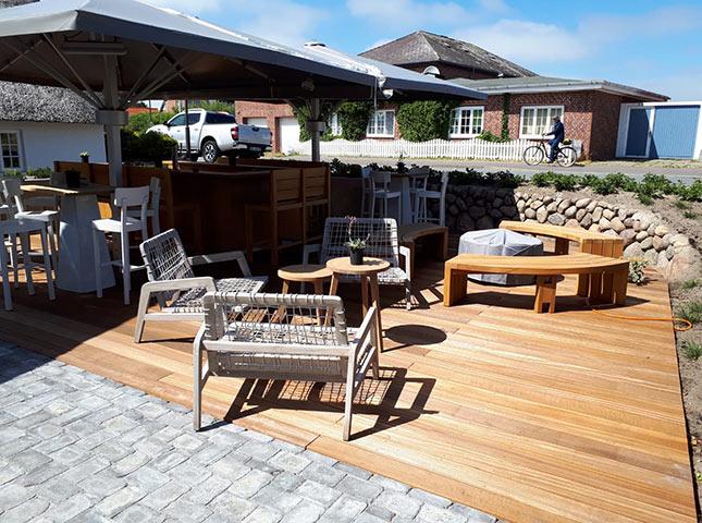 #dieallesschreiner auf Sylt | HolzLand Bunzel in Marl und Hamm | Renovierung Terrasse | fertiggestellt