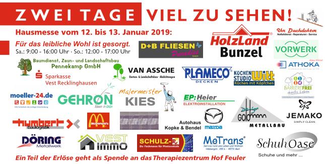 Hausmesse 2019 | Aussteller | HolzLand Bunzel in Marl