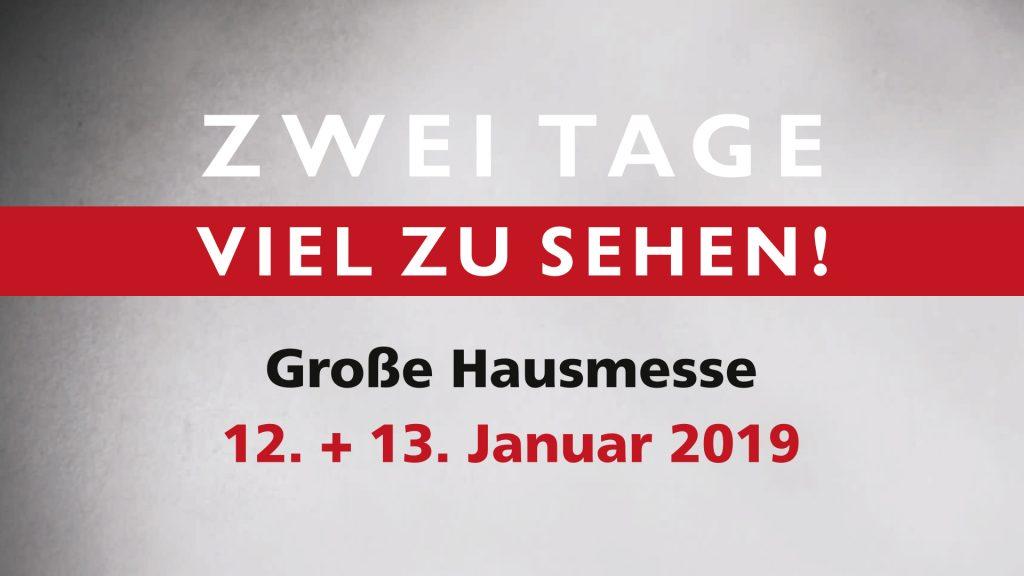Hausmesse 2019 | HolzLand Bunzel in Marl