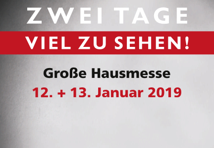 Hausmesse 2019 | HolzLand Bunzel in Marl | Menü