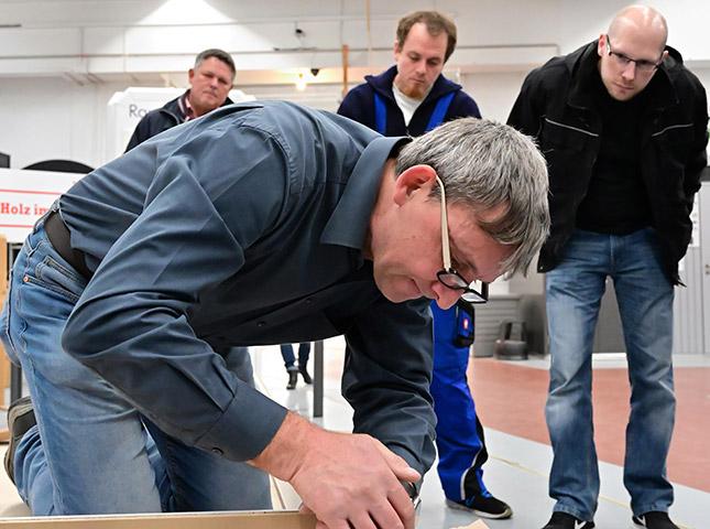 Rückblick: Innentüren einbauen 2018 | DIY-Seminar | HolzLand Bunzel in Marl | Türen-Experte
