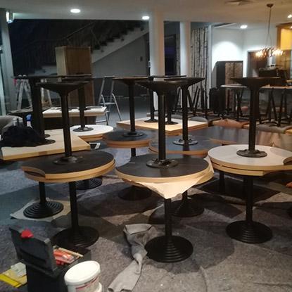 Maximare Tischplatten | Referenzen | HolzLand Bunzel in Marl und Hamm