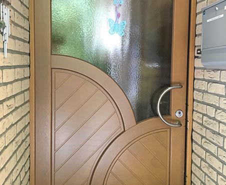 Einbruchschaden Haustür | Referenzen | HolzLand Bunzel in Marl und Hamm