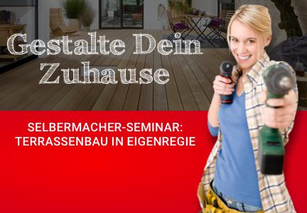 Terrassenseminar | HolzLand Bunzel | Megamenü