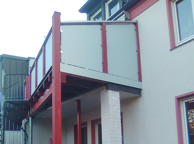 Balkonsanierung und Unterstand | Teaser Referenzen | HolzLand Bunzel in Marl und Hamm