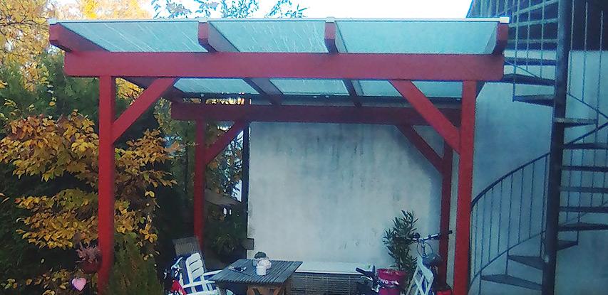 Referenz Unterstand | HolzLand Bunzel in Marl und Hamm