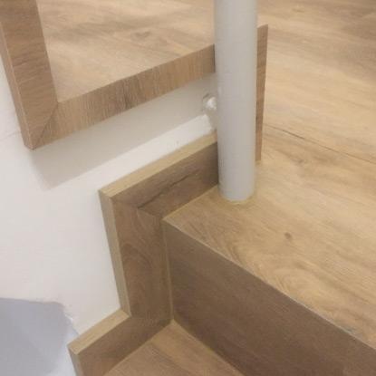 Übergang zwischen Treppe und Stufen | Referenzen | HolzLand Bunzel in Marl und Hamm