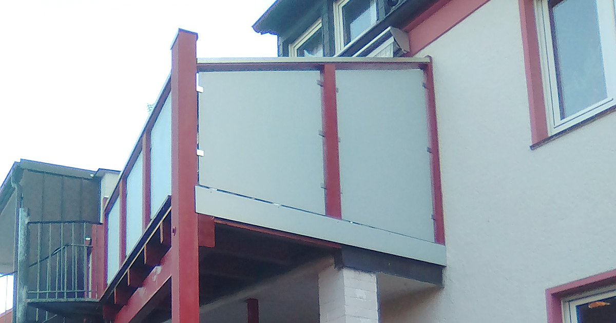 Balkonsanierung und Unterstand | Facebook | HolzLand Bunzel in Marl und Hamm