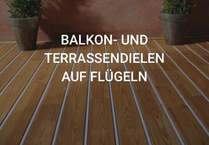 Balkon- und Terrassendielen auf Flügeln | Alpha-Wing | HolzLand Bunzel in Marl und Hamm, Megamenü