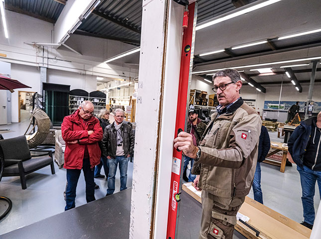Rückblick zum DIY-Innentürenseminar 2019: Am Metermaß geht nichts vorbei | HolzLand Bunzel in Marl