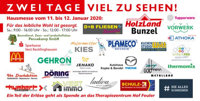 Hausmesse 2020, Aussteller | HolzLand Bunzel in Marl