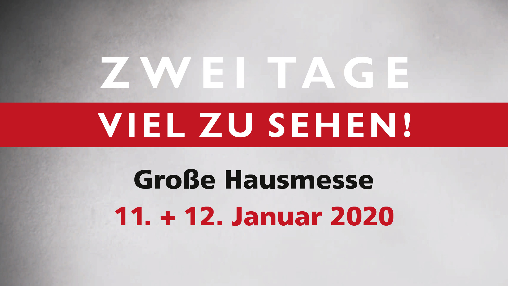 Hausmesse 2020 | HolzLand Bunzel in Marl