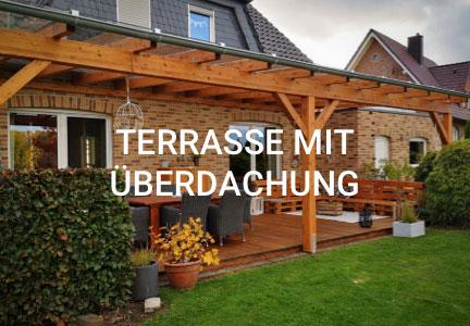 Terrasse mit Überdachung, Referenz | Holzland Bunzel in Marl und Hamm