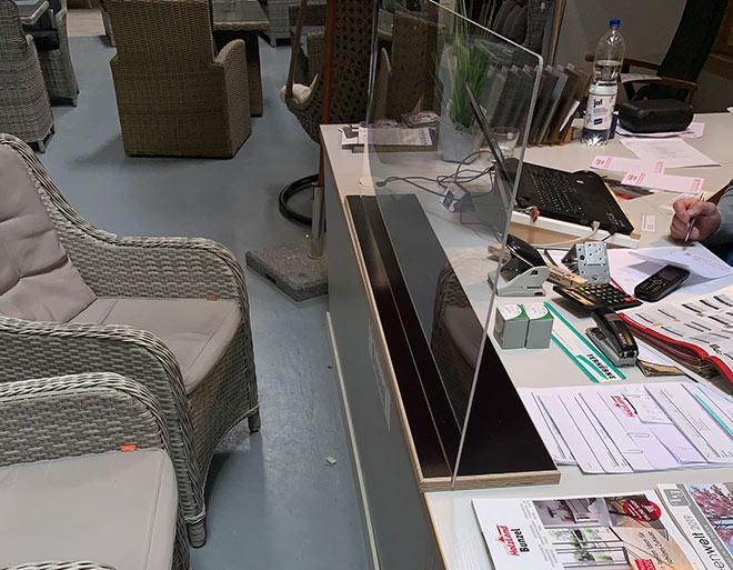 Handgefertigte Plexiglasscheibe | HolzLand Bunzel in Marl und Hamm