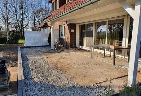 Vorher: Rundum sorglos zur Terrasse | HolzLand Bunzel in Marl und Hamm