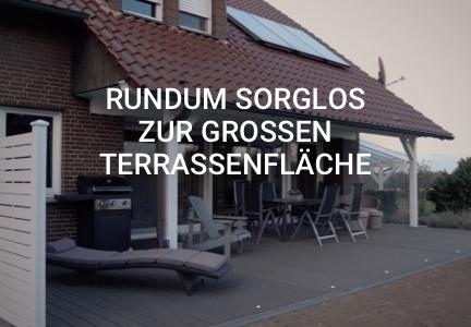 Rundum sorglos zur großen Terrassenfläche | HolzLand Bunzel in Marl und Hamm