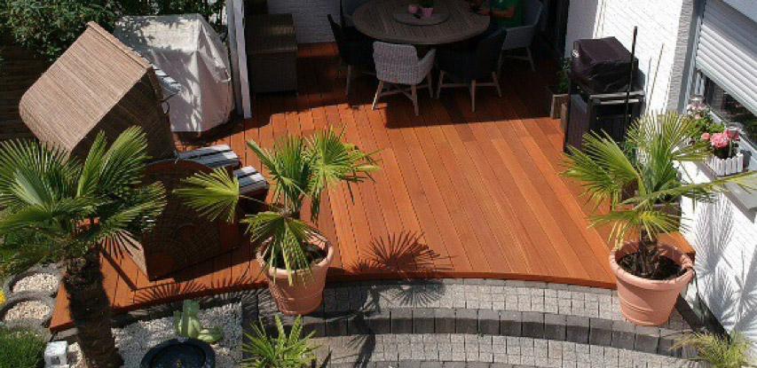 Terrasse aus Bangkirai-Holz   HolzLand Bunzel in Marl und Hamm